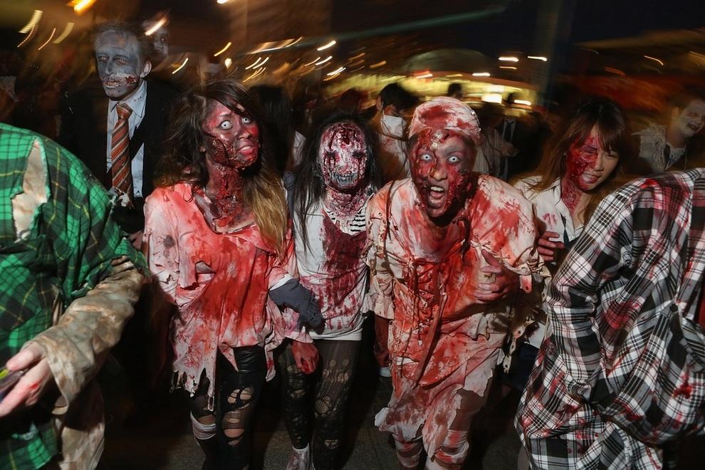 Марш зомби в Берлине (11 фото + видео)