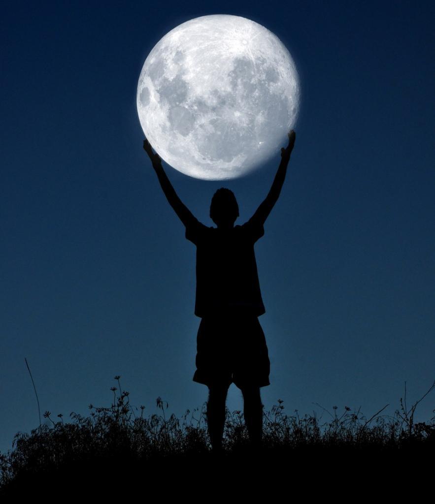Лунный баскетбол (7 фото)