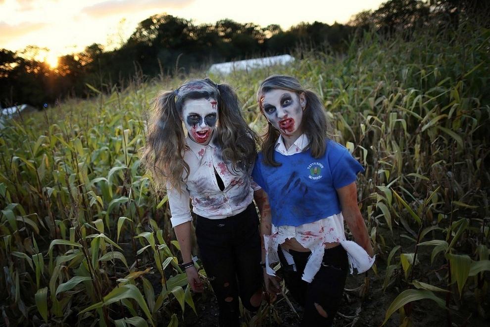 «Шоктоберфест-2012» — две тысячи зомби в одном месте (15 фото)