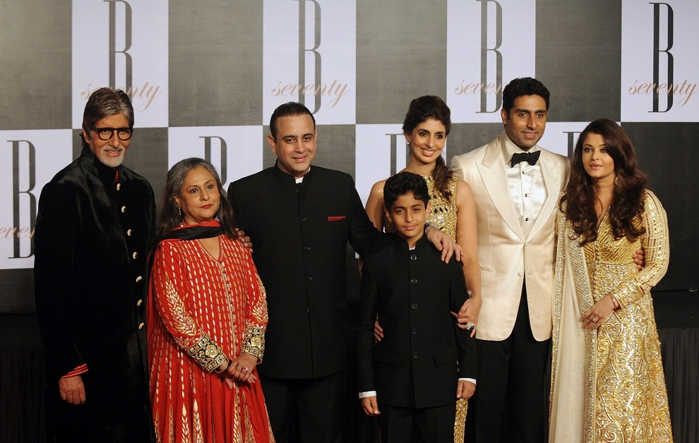 Амитабх Баччан И Его Семья