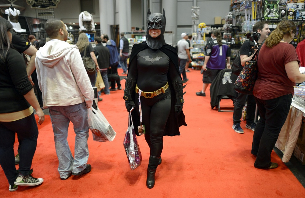 New York Comic Con 2012. (Timothy Clary/Getty Images)