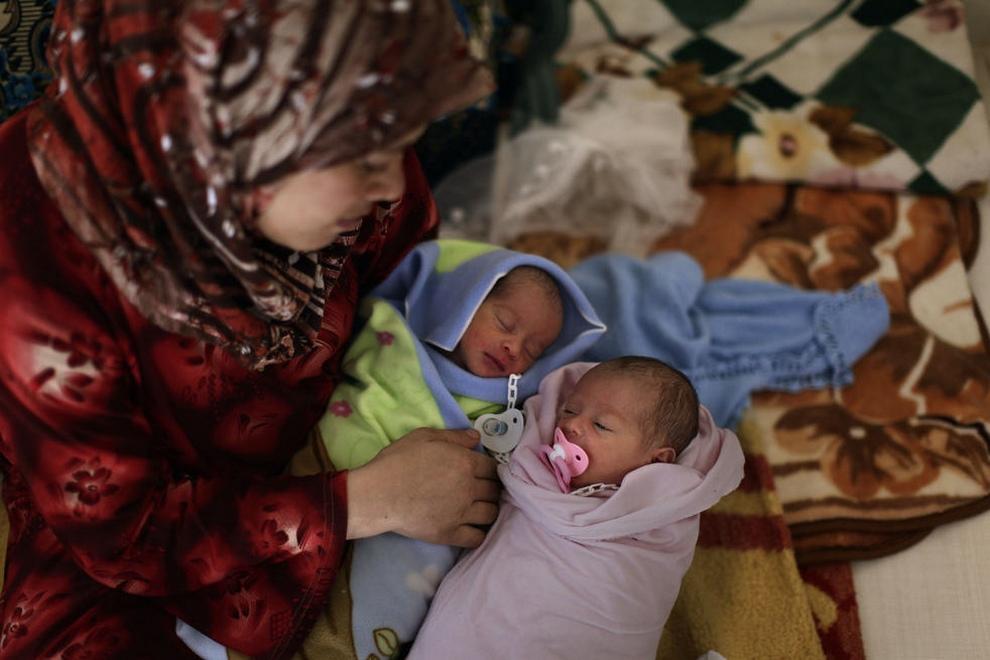 Реалии жизни сирийских беженцев (30 фото)