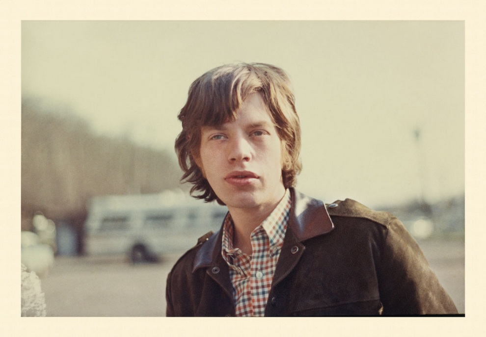 Молодой Мик Джаггер (Mick Jagger). Здесь ему 22. (Dilettante Art Gallery)