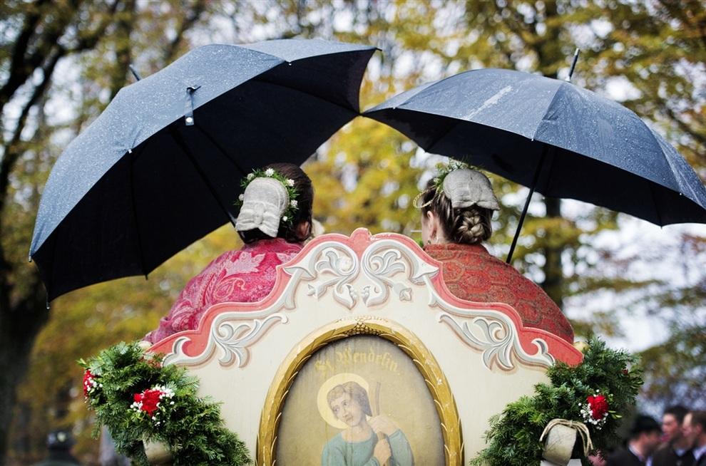 Как баварцы прославляли Святого Леонарда из Лиможа (4 фото)