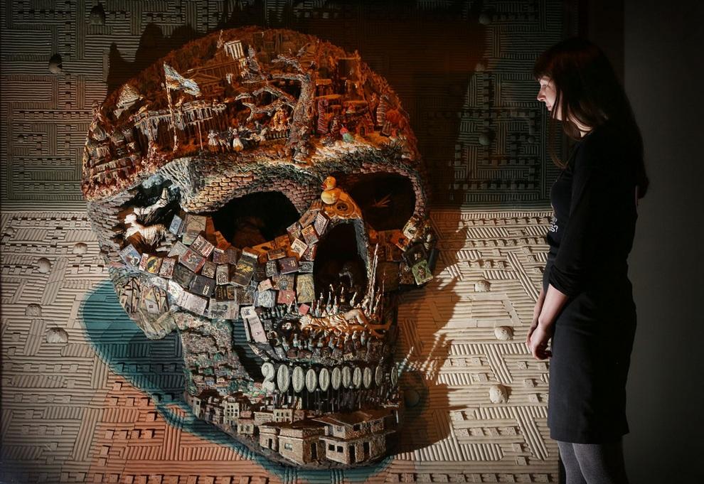 «Смерть: Автопортрет». (Peter Macdiarmid/Getty Images)