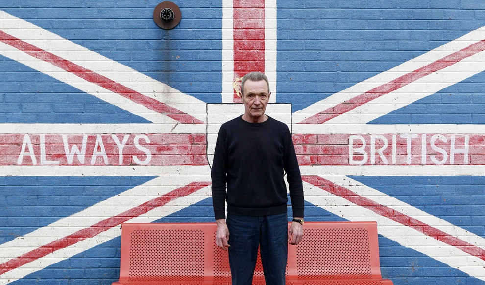 Уильям Бойд (William Boyd), житель Белфаста. На вопрос о том, нужны ли «Стены мира», он однозначно ответил: «Всё должно остаться, как есть. Зачем их кому-то убирать?». (REUTERS/Cathal McNaughton)