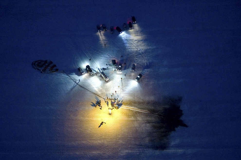 На Землю вернулся экипаж МКС-33 (7 фото)