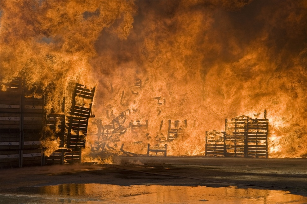 Забастовка в Южной Африке. (RODGER BOSCH /AFP/Getty Images)