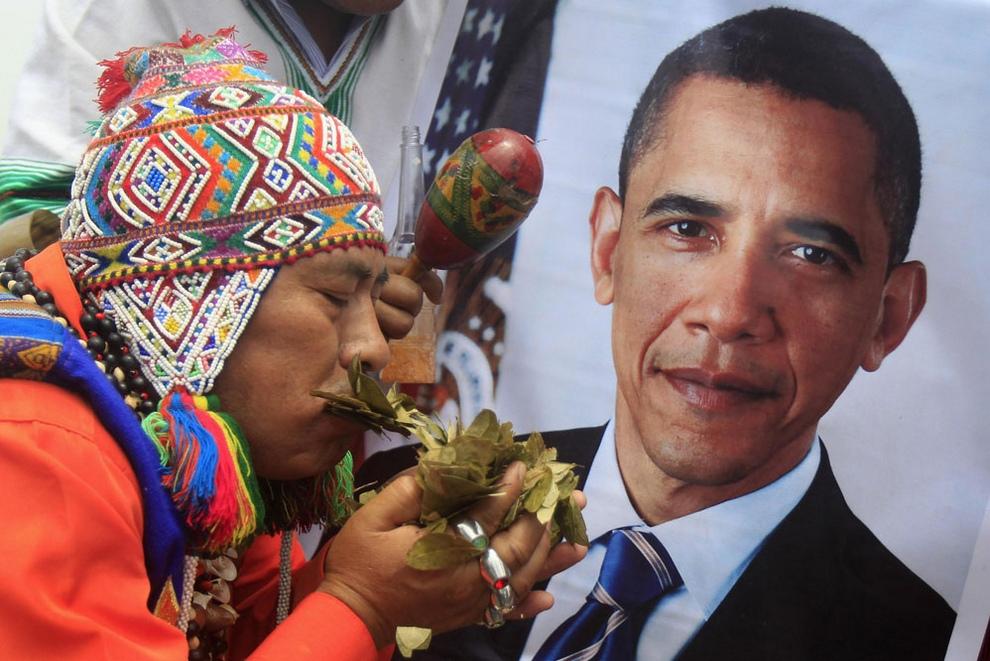 Перуанские шаманы предсказали будущего президента США (10 фото)