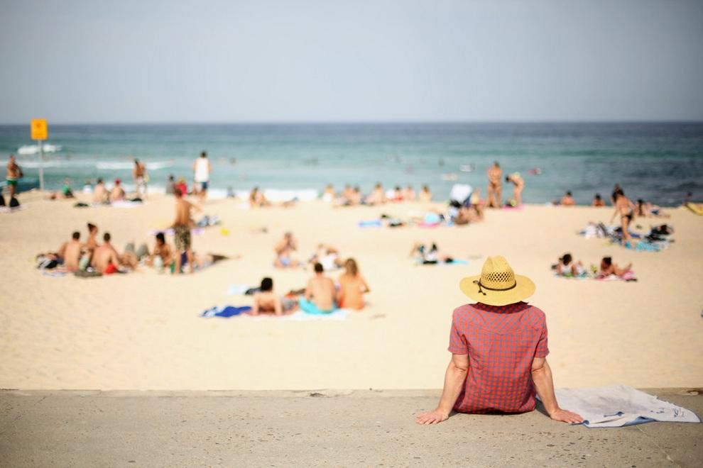 Летняя жара в Австралии. (Mark Kolbe/Getty Images)