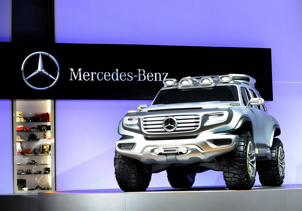 1. Mercedes-Benz Ener-G-Force. (EFE/PAUL BUCK)