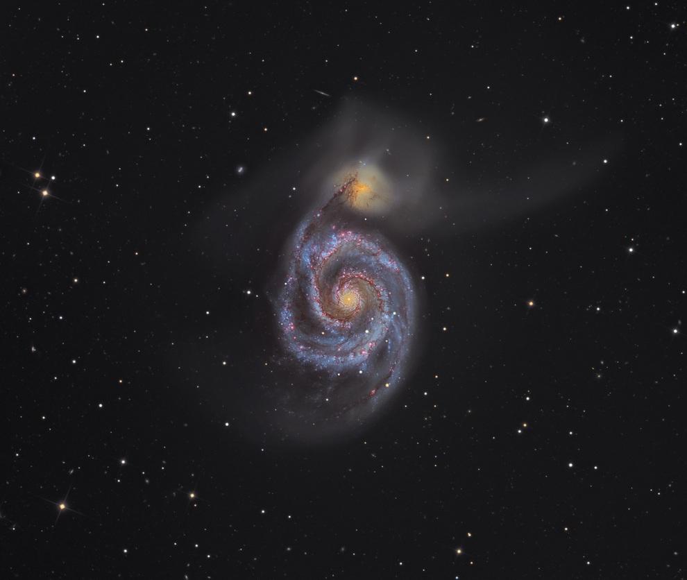 Победитель номинации, гран-при конкурса: «Галактика Водоворот». (Martin Pugh/Astronomy Photographer of the Year)