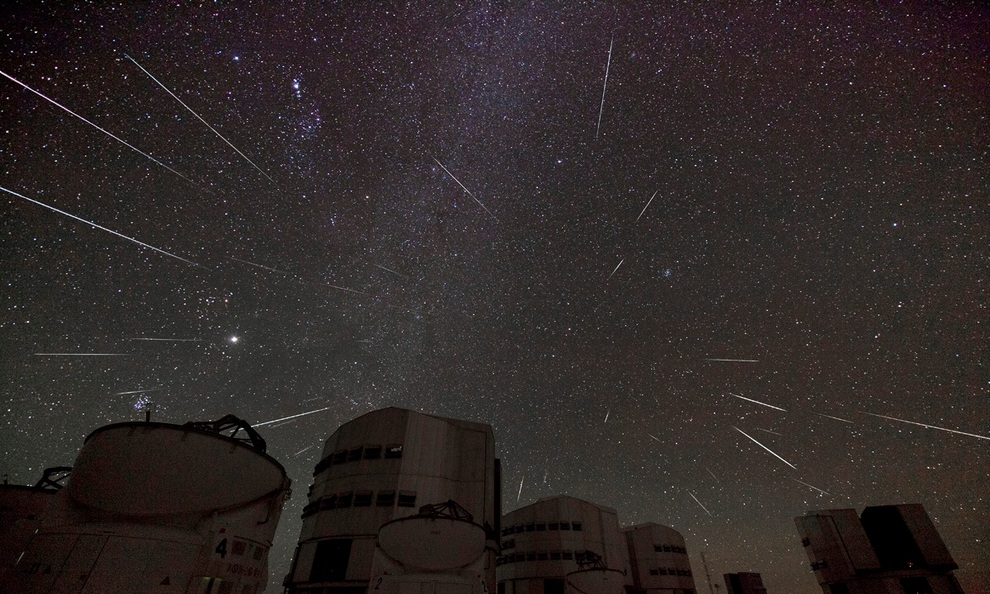 Геминиды — декабрьский звездопад (10 фото + видео)