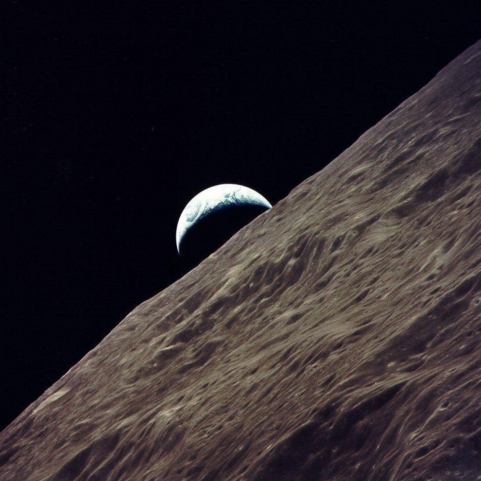 Последний человек на Луне (3 фото + видео)