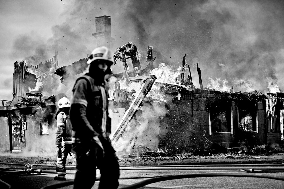 «Внутри пожара». (Zbigniew Wantuch)
