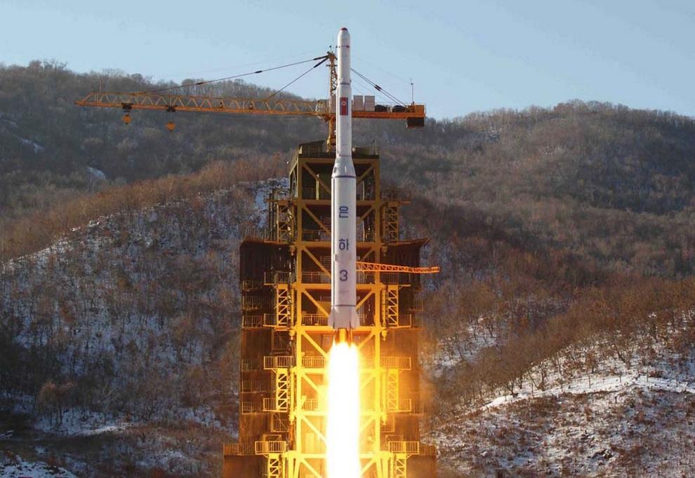 Ракеты Северной Кореи. (KCNA/AFP/Getty Images)