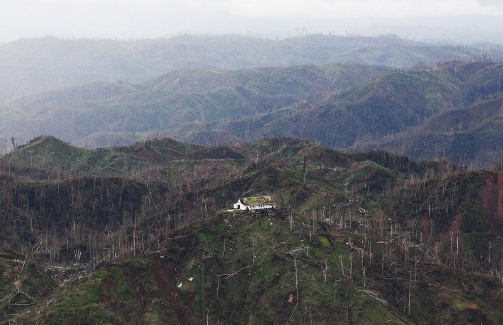 Филиппинские пейзажи после тайфуна «Бофа» (20 фото)