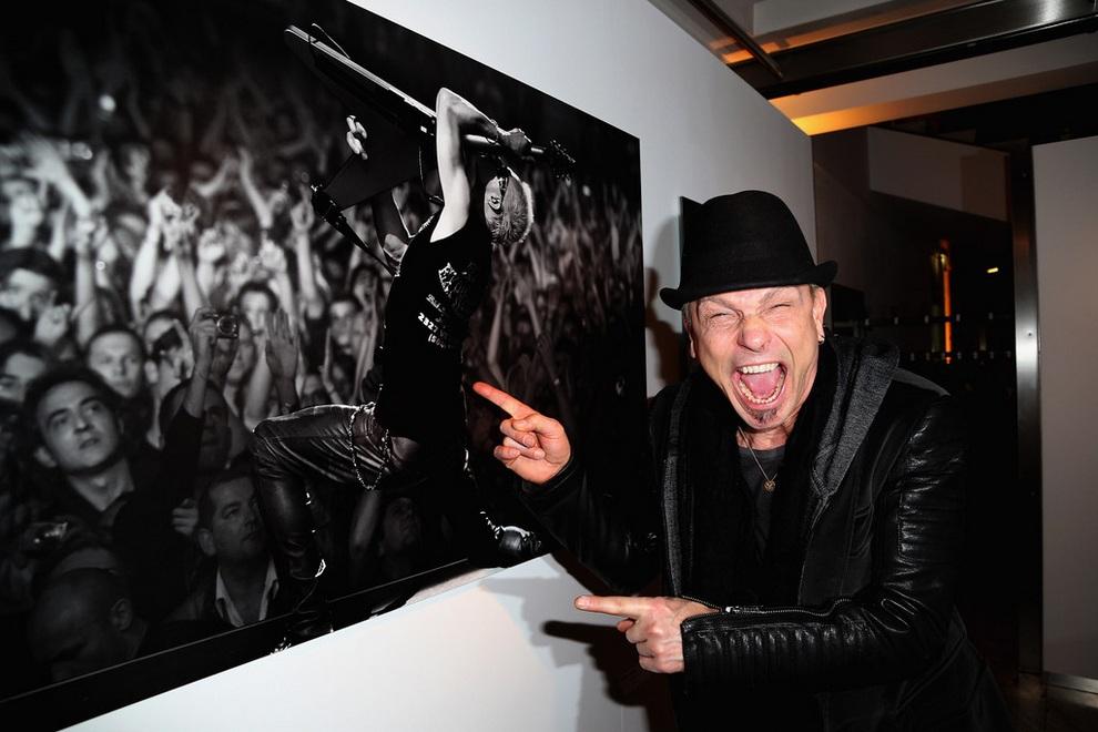 Фотовыставка Марка Тайса о группе Scorpions (10 фото)