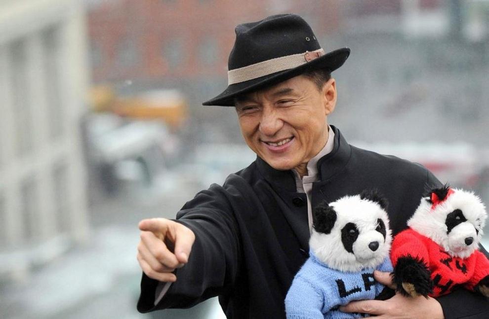Джеки Чан посетил Москву (5 фото + видео)