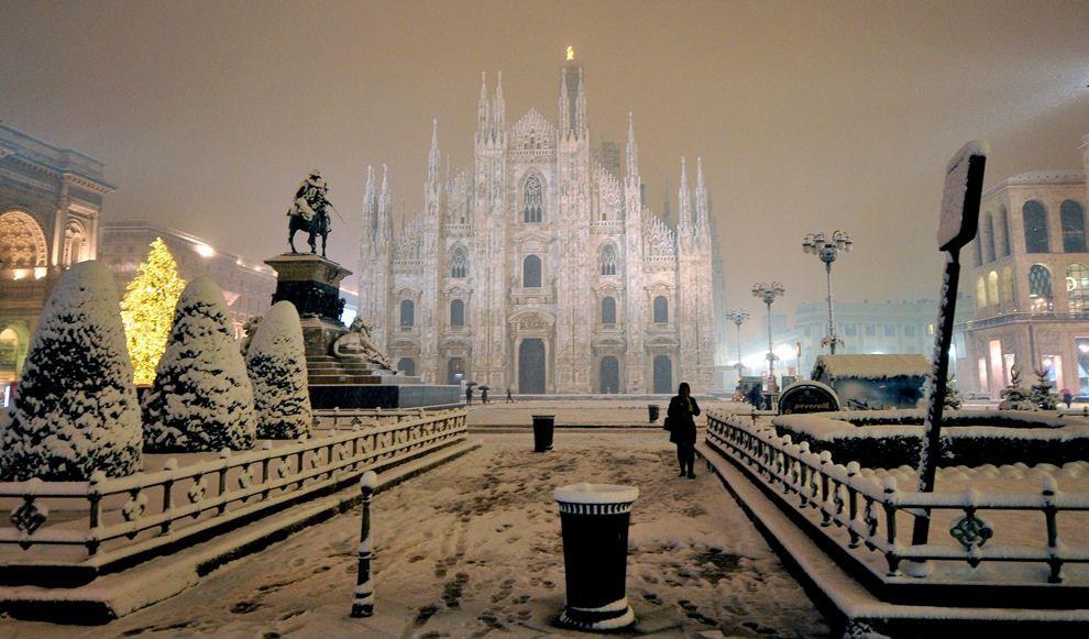 италия зимой фото найти