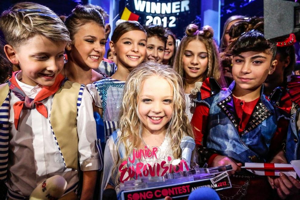 Украинка выиграла детское «Евровидение-2012» (20 фото + 2 видео)