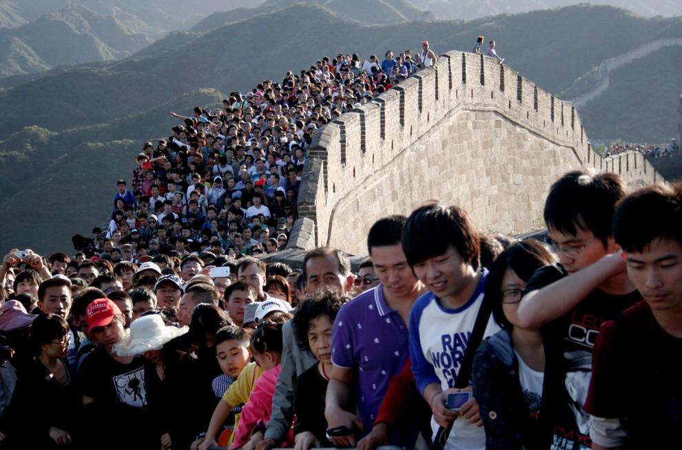 Величие и упадок Великой китайской стены (20 фото)