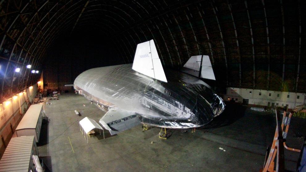 Гигантский Aeroscraft — революция на пороге (3 фото + видео)