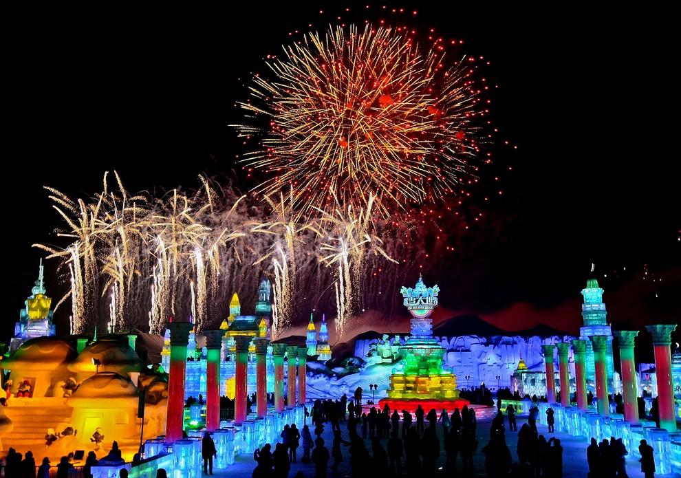 29-й Харбинский международный фестиваль льда и снега (10 фото)