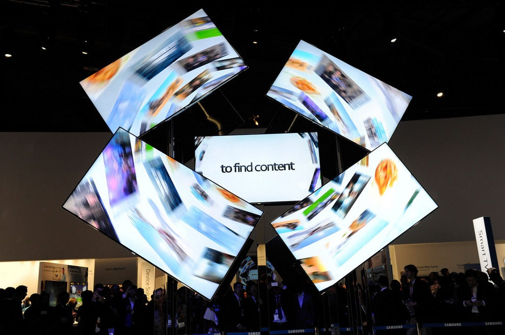 CES 2013: Царство потребительской электроники (30 фото)