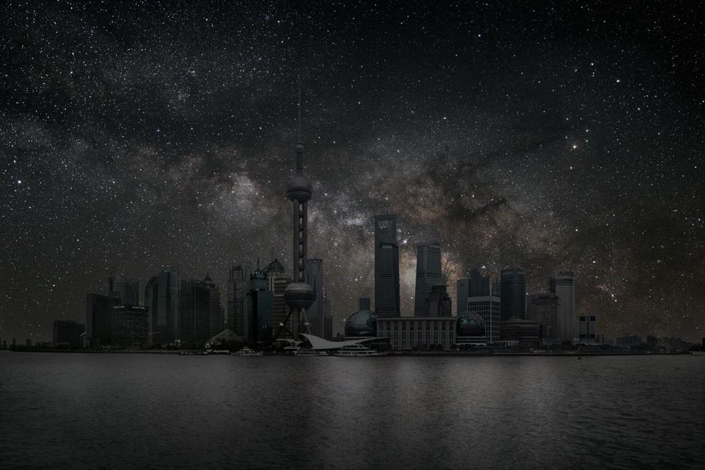 Затемнённые города