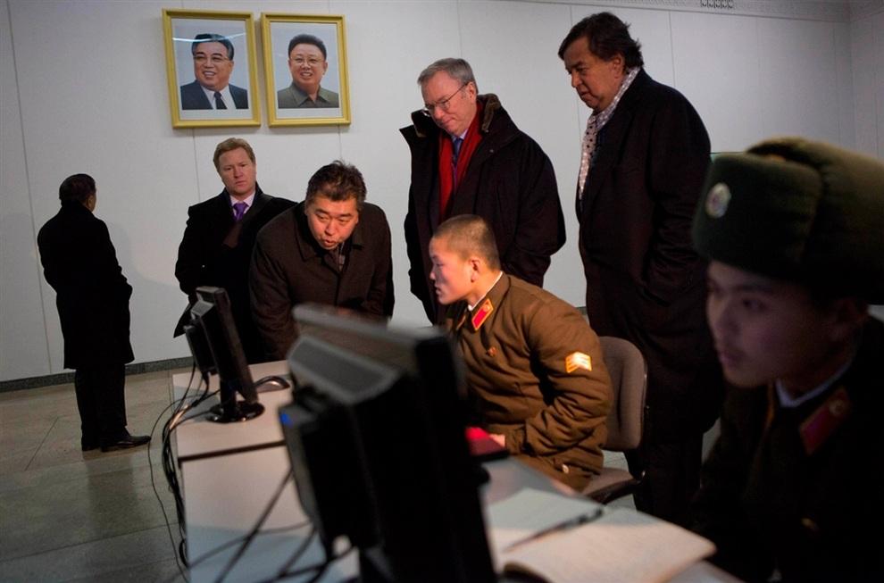 Эрик Шмидт посетил Северную Корею
