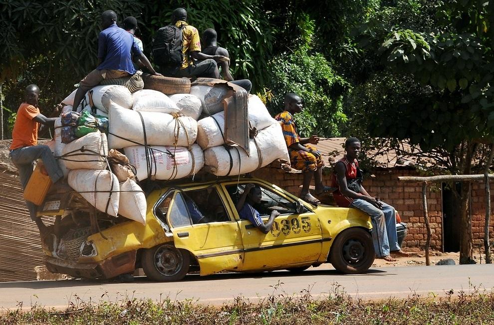 Конфликт в Центральноафриканской Республике (5 фото)
