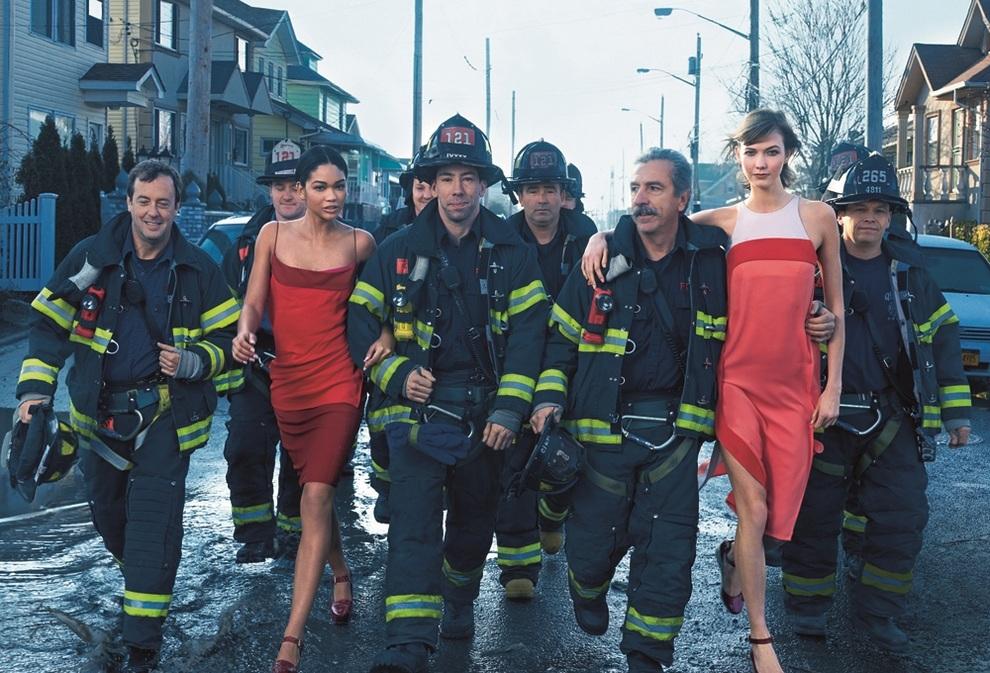 Vogue эпатирует жителей Нью-Йорка модным «Сэнди» (3 фото)