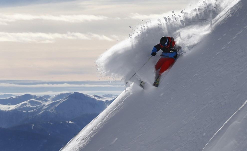 Альпийский фрирайд (18 фото)