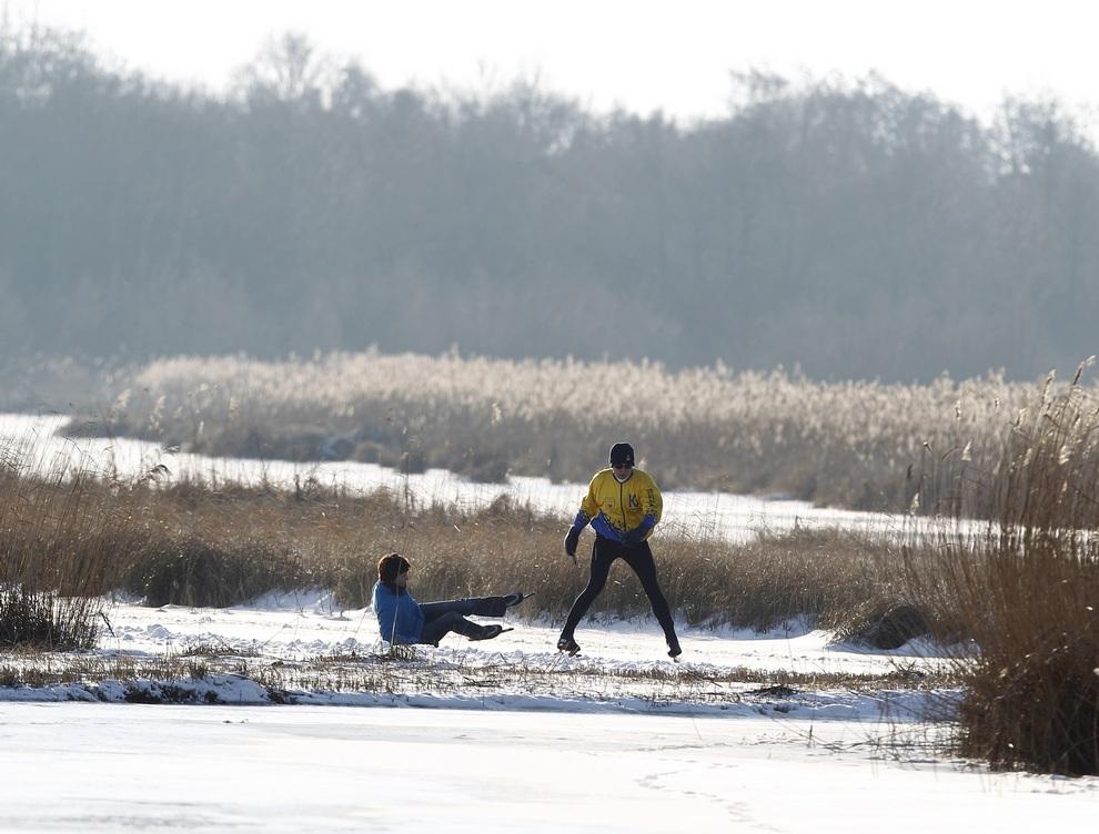 Голландцы на льду