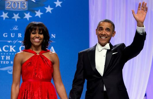 Инаугурационный бал Барака Обамы (10 фото + видео)