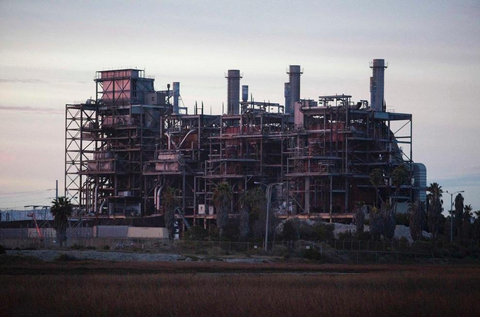 Снос электростанции в Сан-Диего (6 фото + видео)