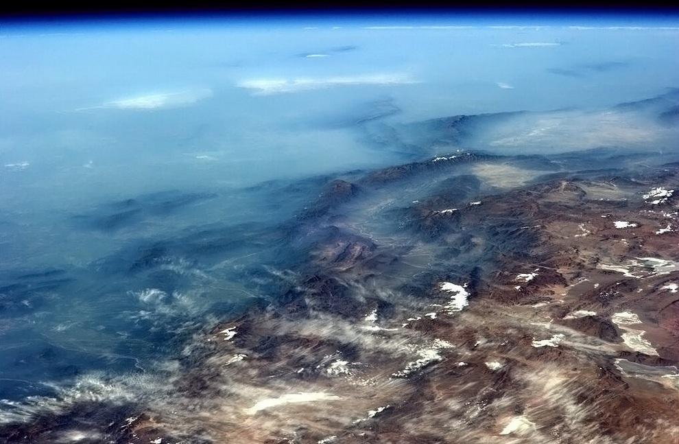 Орбитальные фотографии Земли от Кристофера Хэдфилда (5 фото)