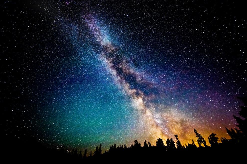 Пейзажи и астрофотографии Дэйва Морроу (8 фото)
