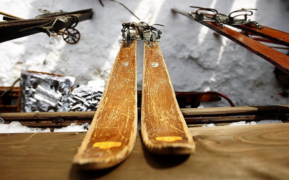 Ностальгические лыжные гонки в Нойастенберге (6 фото)
