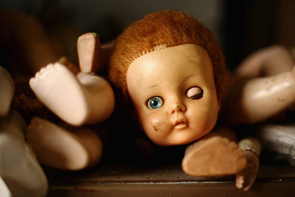 Госпиталь для кукол (20 фото)
