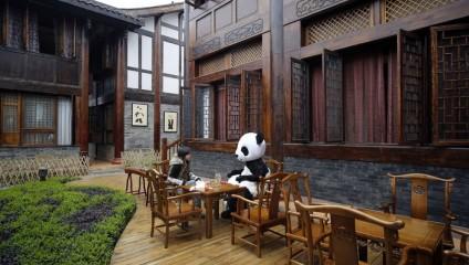 Тематический панда-отель (6 фото)
