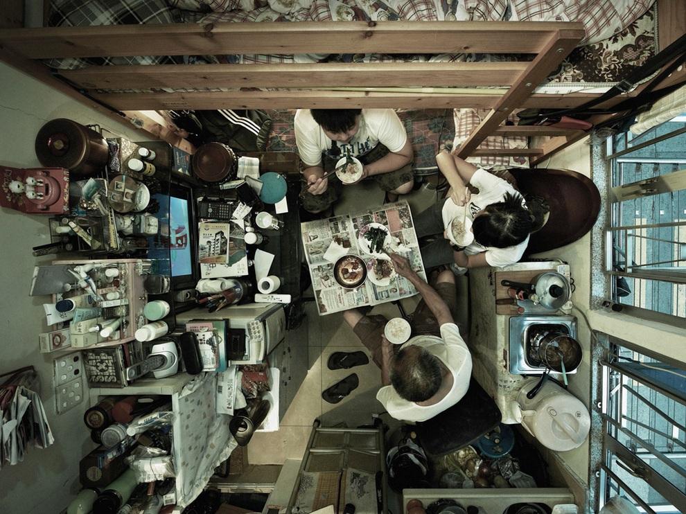 Квартиры Гонконга, вид от потолка (10 фото)
