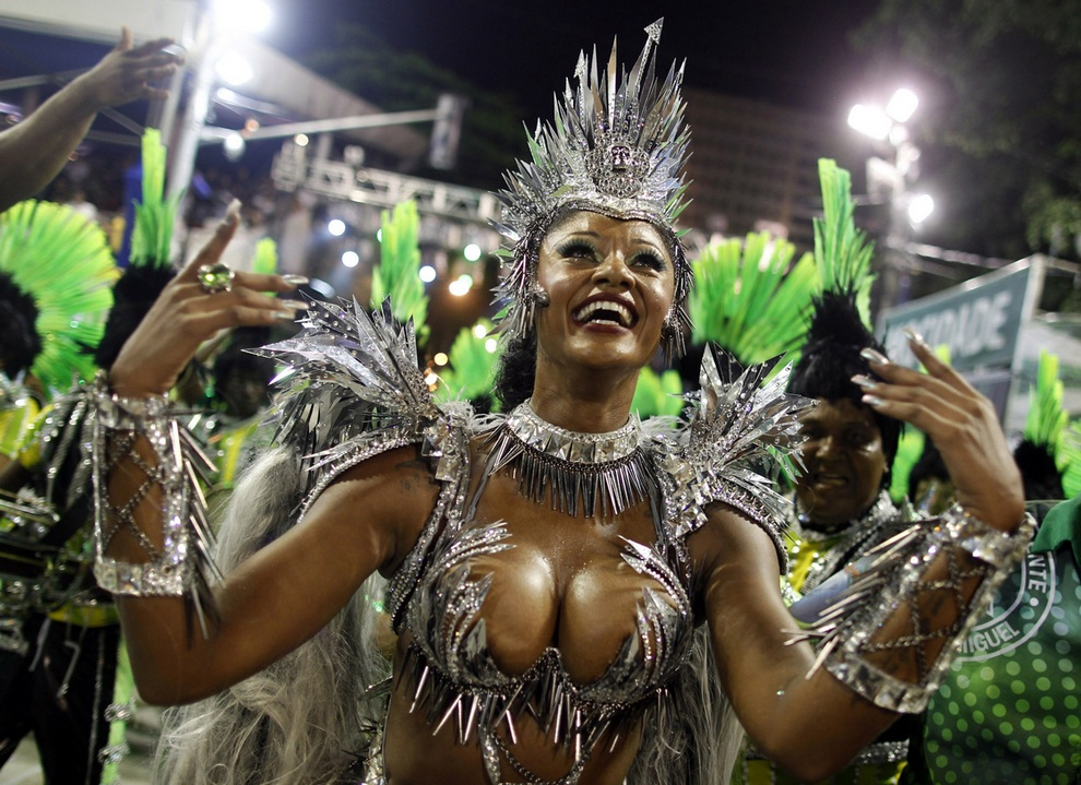 Бразильский карнавал 2013: Окончание праздника (30 фото)