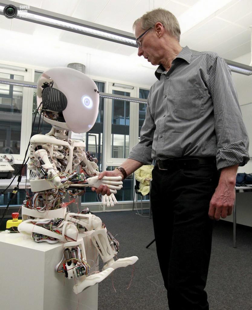Робот человекоподобный своими руками
