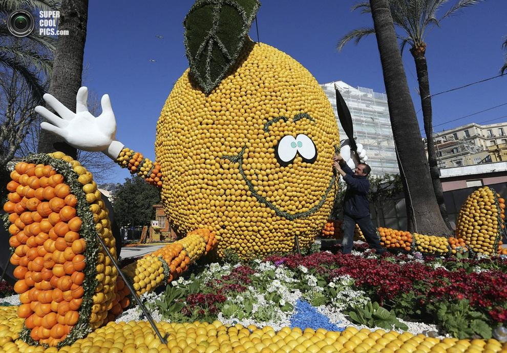 Фестиваль лимонов на лазурном