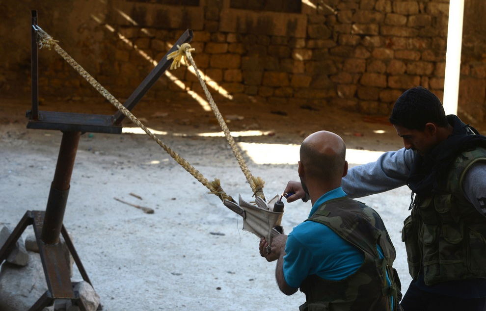 Сирийское оружие «сделай сам» (30 фото)