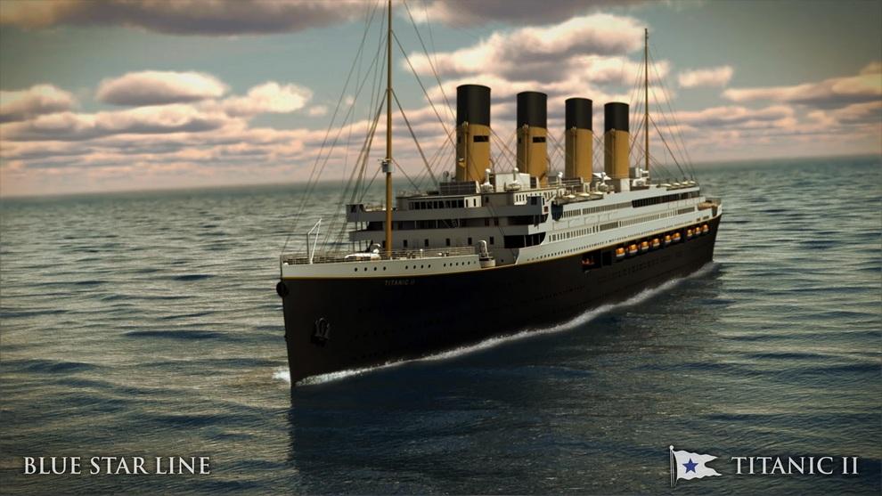 Клайв Палмер построит «Титаник II» (10 фото)