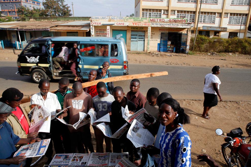 Всеобщие выборы в Кении (35 фото)
