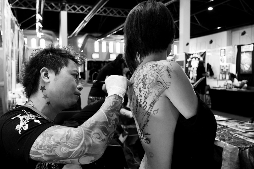 Sydney Tattoo & Body Art Expo 2013 (18 фото)
